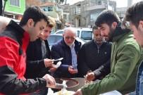 AFRİN - Lapseki Ak Parti Gençlik Kolları Afrin Zaferi İçin Pilav Dağıttı