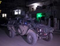 Afrin Operasyonu - Mehmetçik Afrin'de gece devriyesinde