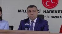 ZEYTIN DALı - MHP Gaziantep'ten Türk Tabipler Birliğine Tepki