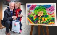 RESSAM - Minik Ressam Nazife Elmas Yerli'ye Bir Ödül Daha