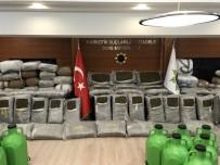 ARNAVUTLUK - Muğla'da Ele Geçirilen 1 Ton Uyuşturucu Basın Mensuplarına Gösterildi