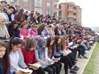 ŞEREF AYDıN - Nevruz'u kitap okuyarak karşıladılar