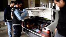 GÜMRÜK MUHAFAZA - Otomobil Bagajında Yavru Köpekler Yakalandı