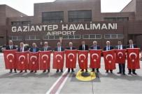 ZEYTIN DALı - Tekirdağlı Başkanlar Gaziantep'te