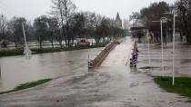 KıRKPıNAR - Tunca Nehri'nin Debisi Yükseliyor