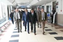EROL AYYıLDıZ - Vali Ayyıldız'dan Ege Üniversitesi Tıp Fakültesi Ziyareti