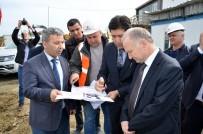 BUZ PATENİ - Vali Ceylan Süleymanpaşa'da İncelemelerde Bulundu