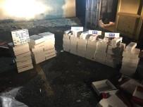 KAÇAK SİGARA - Van'da Kaçak Sigara Operasyonu