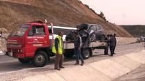 Yolcu Otobüsüyle Otomobil Çarpıştı  Açıklaması 1 Ölü