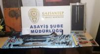 GAZIANTEP EMNIYET MÜDÜRLÜĞÜ - Adam Kaçırma İhbarı İle Düzenlenen Operasyonda Silah Atölyesi Ortaya Çıktı