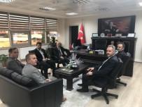 HASAN ŞAHIN - Bakan Yardımcısı Ceylan'dan Ziyaretler