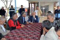 AHMET YıLMAZ - Başkan  Atabay'dan Şoförler Odasının Başkan Adaylarına Nezaket Ziyareti