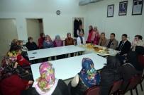 ARIF NIHAT ASYA - Başkan Bakıcı Dikiş Kursu Kursiyerlerini Ve Ana Sınıfı Öğrencilerini Ziyaret Etti