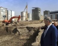 İNŞAAT ALANI - Başkan Çelik, Sahabiye Kentsel Dönüşüm Projesi Şantiyesinde İncelemelerde Bulundu