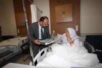 SECCADE - Başkan Özaltun'dan Hastalara Kur'an-I Kerim Ve Seccade Hediyesi