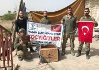 CENNET - Başkan Togar'ın Mehmetçiklere Gönderdiği Paketler Afrin'e Ulaştı