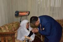 AHMET KURT - Başkan Yağcı'dan Şehit Ailesine Ziyaret