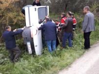 Bursa'da Ölüm Yolunda Yine Kaza Açıklaması 1 Yaralı