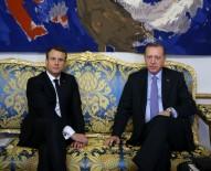 EMMANUEL MACRON - Cumhurbaşkanı Erdoğan, Macron'la görüştü