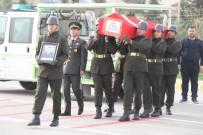 Düşen Uçakta Şehit Olan Üsteğmen Askeri Törenle Uğurlandı