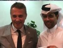FİKRET ORMAN - Fikret Orman, PSG'nin başkanı ile görüştü!