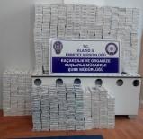 GİZLİ BÖLME - Gizli Bölmede 2 Bin 560 Paket Kaçak Sigara Ele Geçirildi