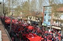 CAN AKSOY - Gölbaşı'nda 'Şehitlere Saygı' Yürüyüşü Gerçekleştirildi