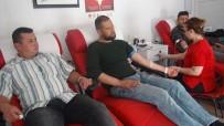 KıZıLAY - Güvenlik Korucuları Mehmetçik İçin Kan Bağışladı