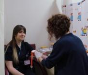 KAN GRUBU - Hastanın Acil Kan İhtiyacına Hemşire Yetişti