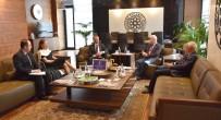 TİCARET ODASI - Kanada Büyükelçisi Başkan Hiçyılmaz'ı Ziyaret Etti