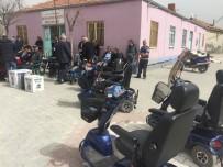 AHMET CAN - Kulu'da İhtiyaç Sahiplerine Engelli Bisikleti Dağıtıldı