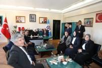 ÖZNUR ÇALIK - Milletvekili Öznur Çalık'tan Erzincan Belediyesine Ziyaret