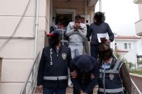 BIBER GAZı - Muğla'da Hırsızlık Zanlıları Gözaltına Alındı