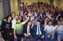 ÇETIN ÇELIK - Nilüferli Hentbolcular Öğrencilerle Buluştu