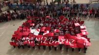 METIN ŞENTÜRK - Öğrenciler Şehitlerin İsimleri Yazılı Balonları Uçurdu
