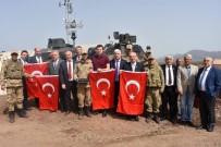 ASKERİ PERSONEL - Tekirdağ'ın Belediye Başkanları Sınırdaki Mehmetçikle Buluştu