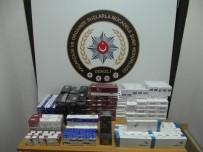 MALZEME DEPOSU - Tırdaki Bidon Ve Gizli Bölmelerden Bin 200 Paket Sigara Çıktı