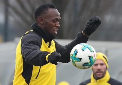 Usain Bolt Borussia Dortmund idmanında