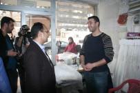 NURULLAH CAHAN - Uşak Belediye Başkanı Nurullah Cahan, Kilis'i Ziyaret Etti