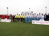 DÜNYA ŞAMPİYONU - Yargıtay Başkanı Cirit, Türkiye Milli Ampute Futbol Takımı İle Maç Yaptı