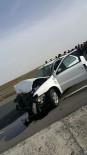 YONCALı - Ağrı'da Trafik Kazası Açıklaması 3 Yaralı