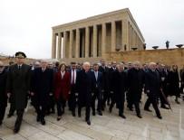 MILLIYETÇI HAREKET PARTISI - Bahçeli, MYK ve MDK üyeleri ile Anıtkabir'de