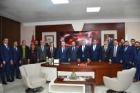HÜSEYİN ÖZBAKIR - Bakan Osman Aşkın Bak'tan Ereğli Belediyesine Ziyaret