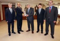 TARAFSıZLıK - Başkan Karaosmanoğlu, Kişisel Verileri Koruma Kurumu Yönetimini Ağırladı