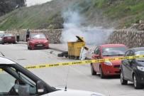 ŞÜPHELİ PAKET - Çöp Konteynırı İçinden Saat Sesi Geliyor İhbarı Polisi Alarma Geçirdi