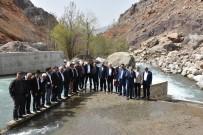 ELEKTRİK FATURASI - Haydaran İçme Suyu İsale Hattında İncelemeler Yapıldı
