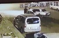 HATALI DÖNÜŞ - (Özel) Otomobil Sürücüsü Genç Darp Edildi
