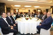 MEHMET KARAHAN - Protokol Üyeleri Otelin Açılış Yemeğine Katıldı