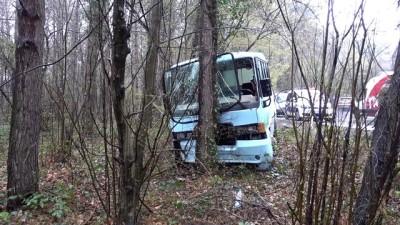 Sarıyer'de Minibüs Ağaca Çarptı Açıklaması 5 Yaralı