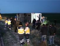 Şoför kalp krizi geçirdi: 4 ölü, 34 yaralı